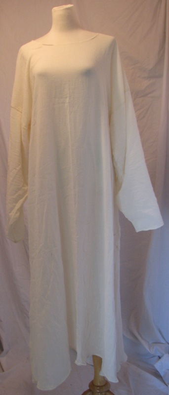 Underdress  Cotton Gauze  Ivory  Keyhole Neck Many Sizes In Stock