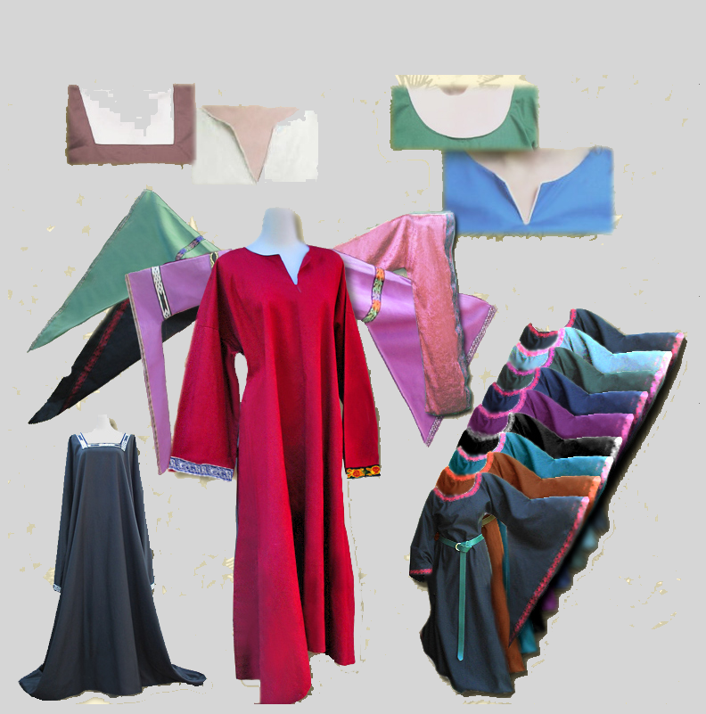 Make Your Own Dress Design: Customize Your Medieval Dress Or Robe