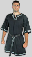 Medieval celtic trim tunic