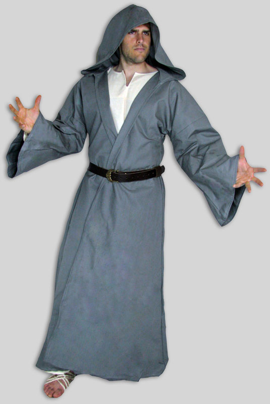 Jedi Robe Costume  sc 1 st  Garb the World & Open (Wizard) Robe made in USA