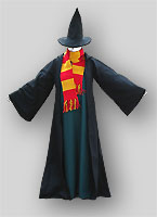 folk witch costume