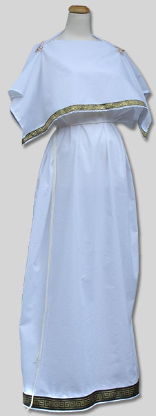 Doric Chiton Classic Greek Costume From Garb The World
