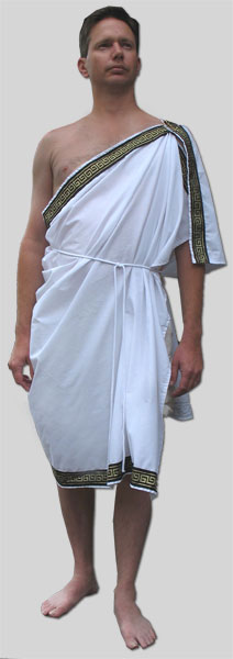 Male Greek Chiton From Garb The World